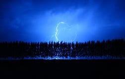 Blitz in Tunuyan Lizenzfreie Stockfotografie