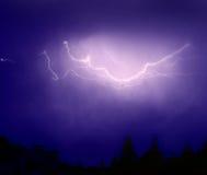 Blitz und Donner Stockfotos