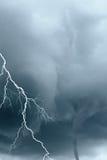 Blitz und Tornados Stockfoto