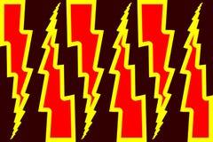 Blitzbolzen - abstraktes geometrisches Vektormuster Stockfotografie
