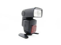 Blitzen Sie für die Kamera mit einem justierbaren Kopf Stockbilder