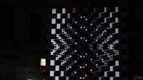 Blitzlichtzusammenfassung stock video footage