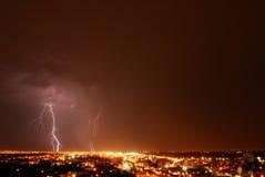 Blitznacht Stockbilder