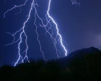 Blitzschläge Lizenzfreies Stockbild