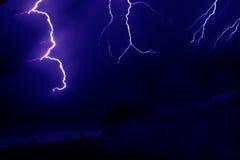 Blitzschläge Lizenzfreie Stockfotografie