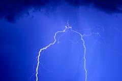 Blitzschlag 2 Stockbild