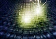 Blitzschlag Stockbild
