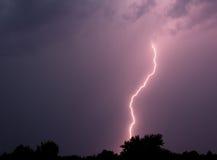 Blitzschlag Lizenzfreie Stockbilder