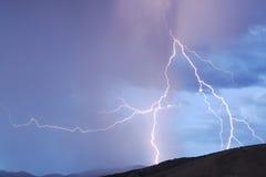 Blitzschlag lizenzfreies stockfoto
