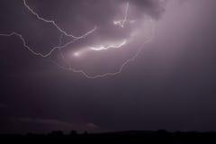 Blitzschlag 8 Stockbild
