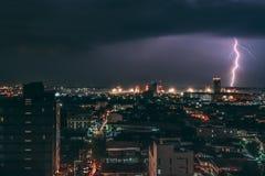 Blitzschlag in Cebu-Stadt, Philippinen Stockfoto
