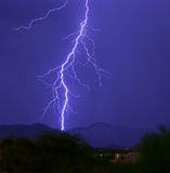 Blitzschlag I Stockbilder