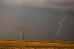 Blitzschlagen Stockbild