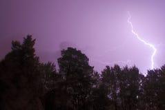 Blitzschlagen Stockbilder