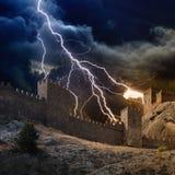 Blitzschlagfestung Lizenzfreie Stockbilder
