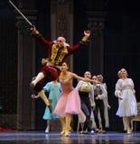 Blitzschneller-D Ballett-Nussknacker Stockfoto
