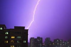 Blitzschraube Lizenzfreies Stockfoto