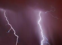 Blitzschrauben Stockfoto