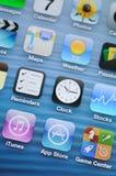 Blitzverbinder für iPhone 5 Stockfotos