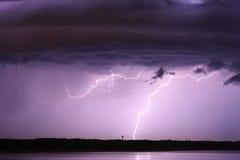 Blitzwolke Stockbild