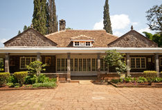 blixen房子卡伦・肯尼亚s 免版税库存照片