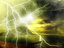 blixt Arkivbild