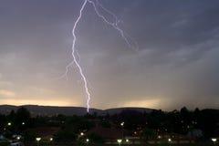 blixtslag Arkivfoton
