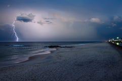 blixtslag Arkivbilder