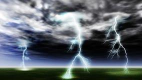 blixtslag Royaltyfri Fotografi