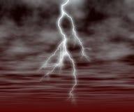 blixtslag vektor illustrationer