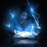 Blixtslag från bibeln Royaltyfri Fotografi