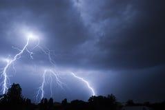 blixtslag v1 Fotografering för Bildbyråer