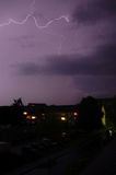blixtstorm Royaltyfri Bild