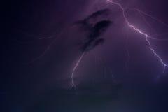 Blixtstorm Royaltyfria Foton