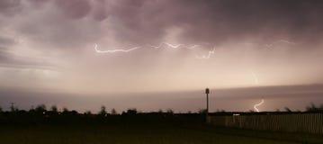 blixtstorm Royaltyfri Fotografi
