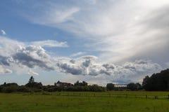 Blixtstorm i Colorado USA Arkivfoto