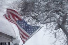 blizzard Stockfoto