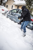 blizzard Image stock
