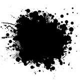blk-färgpulverrnd stock illustrationer