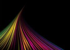 blk rainbow space Στοκ Φωτογραφία