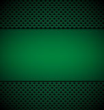 Bllank зеленеет плиту для дизайна на зеленой предпосылке текстуры гриля Стоковое Фото