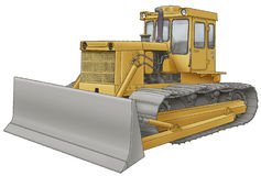 Blldozer Royalty Free Stock Photos