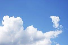 blle νεφελώδης ουρανός Στοκ εικόνες με δικαίωμα ελεύθερης χρήσης