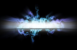 Bllue light Stock Image