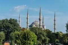 Bllue-Moschee in Istanbul, die Türkei Stockfotos
