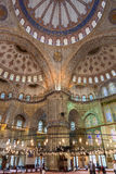 Bllue-Moschee in Istanbul, die Türkei Lizenzfreie Stockfotos