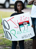 BLM protest, Charleston, South Carolina Royalty Free Stock Photos