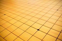 Blnak gehen Spielschachbretthintergrund Stockbilder