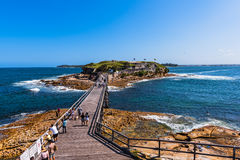 Bloße Insel-Verstärkung im La Perouse Sydney Australia Lizenzfreies Stockfoto