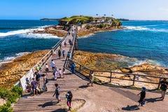 Bloße Insel-Verstärkung im La Perouse Sydney Australia Lizenzfreie Stockfotografie